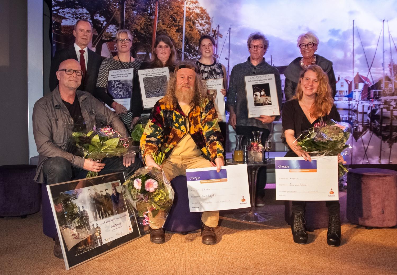 Winnaars, genomineerden voor de Rabo Cultuurprijs 2014 foto Hans Villerius