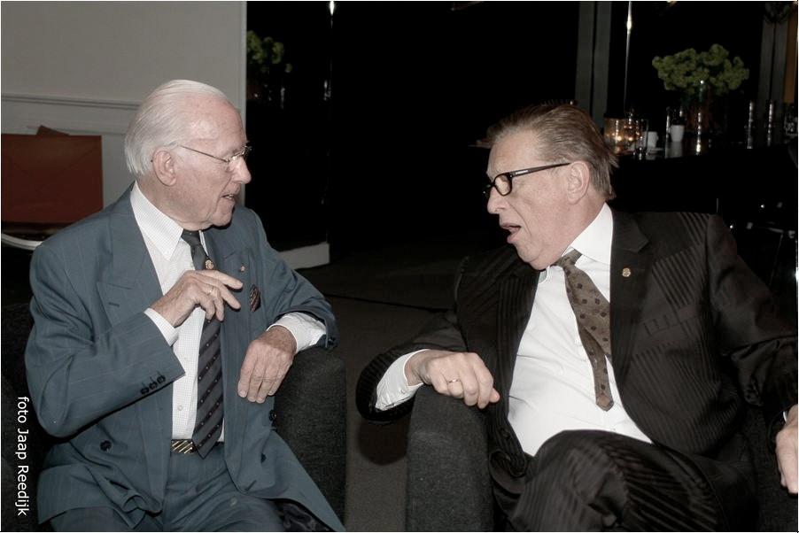 Eddy Christiani en John de Mol sr.
