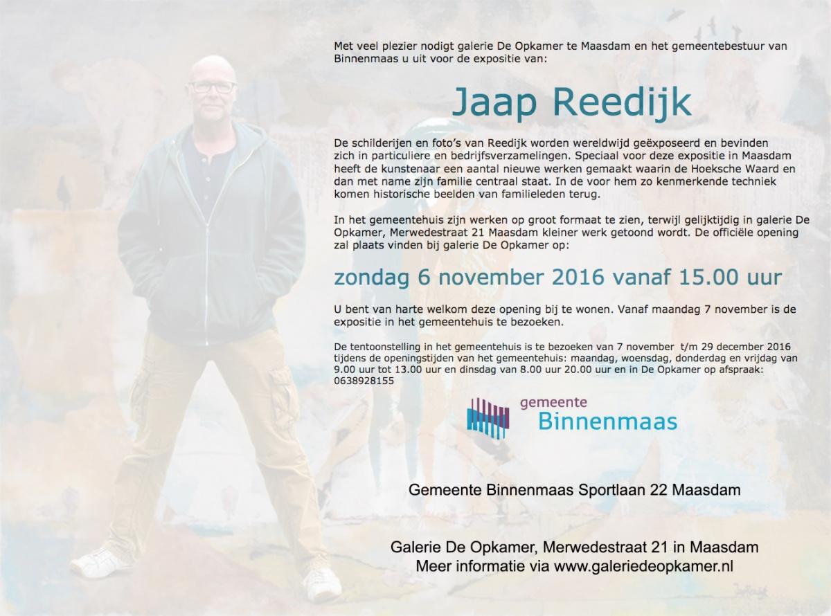 uitnodiging-1-6-11-expositie-binnenmaas-jaap-reedijk
